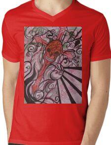 Genesis Mens V-Neck T-Shirt