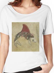koi shark fin 02 Women's Relaxed Fit T-Shirt
