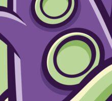 Purple Tentacle Take Away Sticker Sticker
