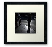 The Kerb Crawlers Framed Print