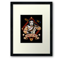 Casey at Bat Framed Print
