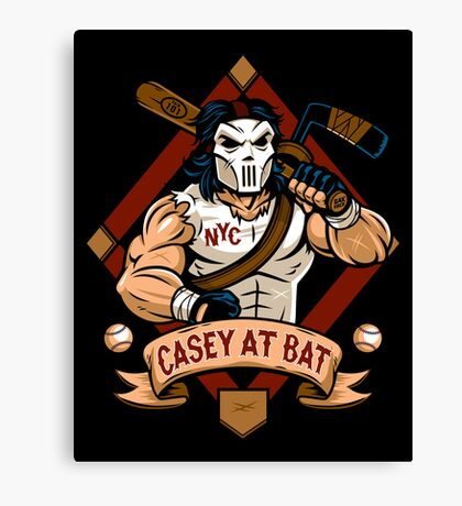 Casey at Bat Canvas Print