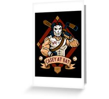 Casey at Bat Greeting Card