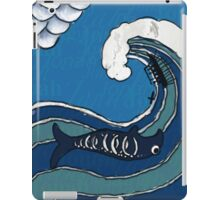 Jonah and the Fish iPad Case/Skin