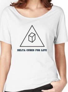 Delta Cubes For Life Women's Relaxed Fit T-Shirt