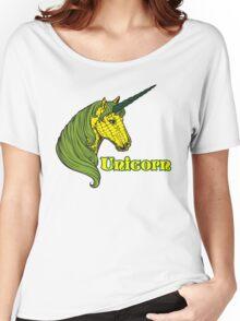 Unicorn Corn Women's Relaxed Fit T-Shirt