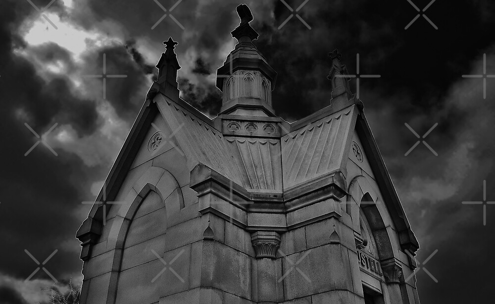 The Scary Part of the Cemetery by Scott Mitchell
