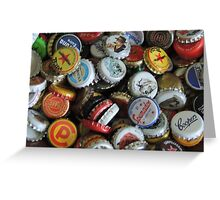 Bottletop Collection Greeting Card
