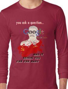 google Long Sleeve T-Shirt