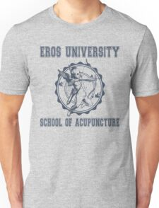 Eros University School of Acupuncture - Fictional College Shirt - Cupid Acupuncture School T-Shirt