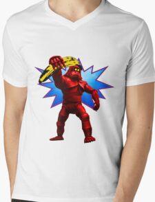 Andy Banana Mens V-Neck T-Shirt