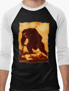 Monkey Love Men's Baseball ¾ T-Shirt