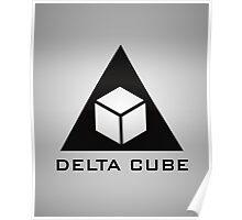 Delta Cube Poster