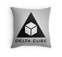Delta Cube Throw Pillow