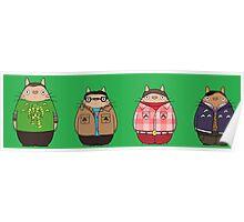 Big Bang Totoro Poster