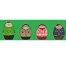 Big Bang Totoro Photographic Print