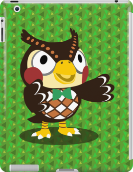 Blathers - Animal Crossing by tanzelt