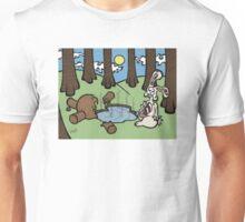 Teddy Bear And Bunny - Acid Trip Unisex T-Shirt