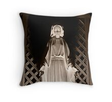 Mary, Full Of Grace Throw Pillow