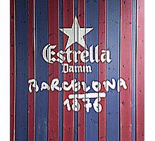 Estrella Barcelona  Photographic Print