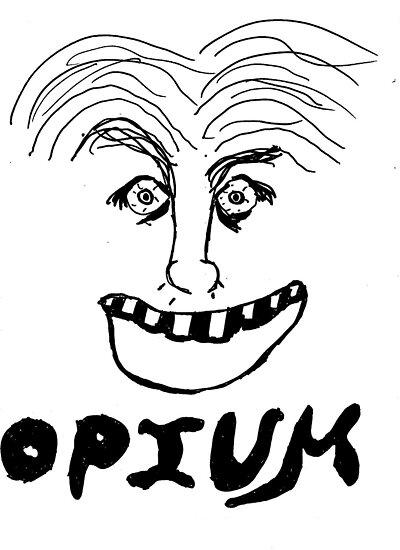 Opium happy smile by mindofjon