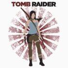 Lara Croft -  Tomb Raider (with burst) by Kozu