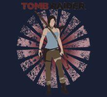 Lara Croft -  Tomb Raider (with burst) Baby Tee