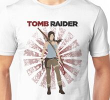 Lara Croft -  Tomb Raider (with burst) Unisex T-Shirt