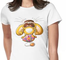 Desperate Easter Bunny Womens Fitted T-Shirt