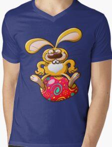 Proud Easter Bunny Mens V-Neck T-Shirt