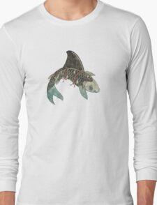 Koi Shark Fin Long Sleeve T-Shirt