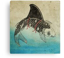 Koi Shark Fin Canvas Print