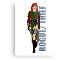Rogue/Thief Metal Print