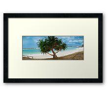 Stunning Beach Caloundra Framed Print