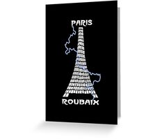 Paris-Roubaix Greeting Card