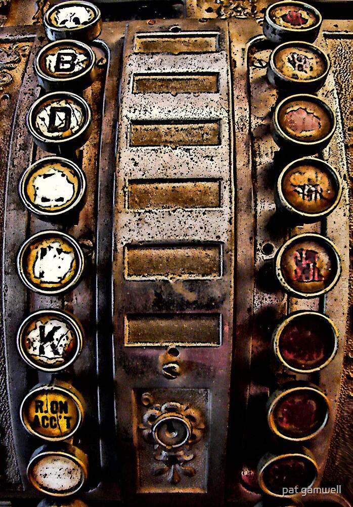 Antique Math Machine by pat gamwell