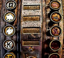 Antique Math Machine by pat gamwell