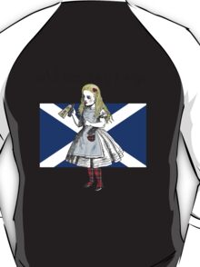 Alice Says Aye Scottish Independence T-Shirt T-Shirt