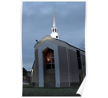 West Sherman Baptist Church in Sherman, Texas, USA Poster