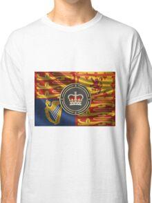 St Edward's Crown - British Royal Crown over Royal Standard  Classic T-Shirt