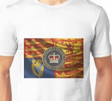 St Edward's Crown - British Royal Crown over Royal Standard  Unisex T-Shirt