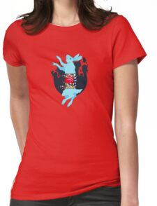 Rot Rabbit Womens Fitted T-Shirt