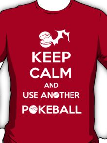Use another pokeball T-Shirt