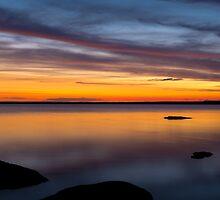 Sunset at Tin Hut Lake by Steve Bass