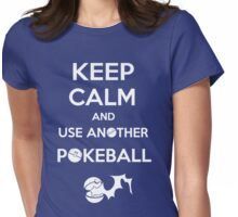 Use another pokeball v2 Womens Fitted T-Shirt