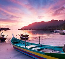 Langkawi Sunset by Justin Foulkes
