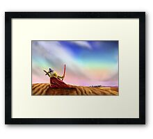 The big trip; El gran viaje; Le grand voyage Framed Print