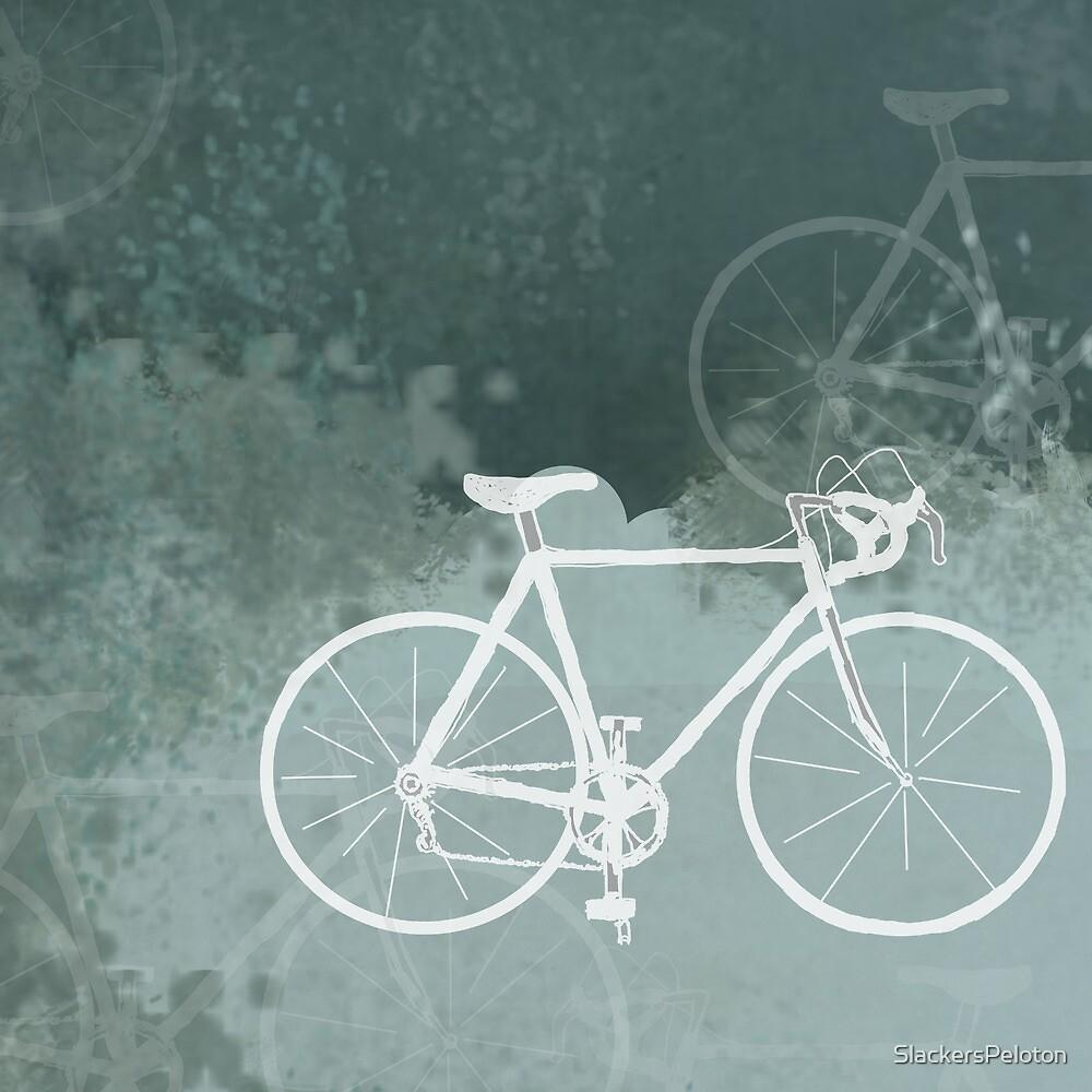White Bikes by SlackersPeloton