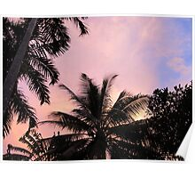 Sunset from the Suburbs Poster