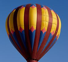 Hot Air Balloon Chase By Witch by Tina Hailey
